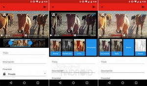 Agrega filtros y música a videos de YouTube desde Android