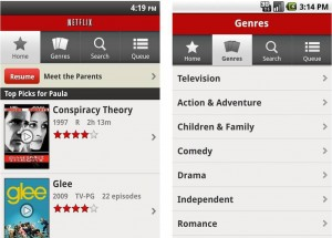 Netflix disponible para Android