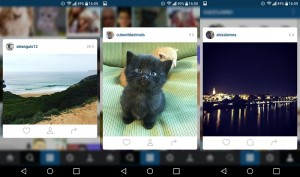 Efecto 3D Touch en Instagram para Android